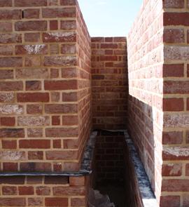Flemish Bond brickwork & Plinth bricks