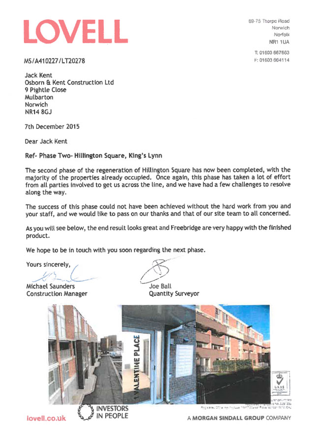 Lovell Letter