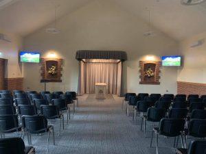 Breckland Crematorium: Interior
