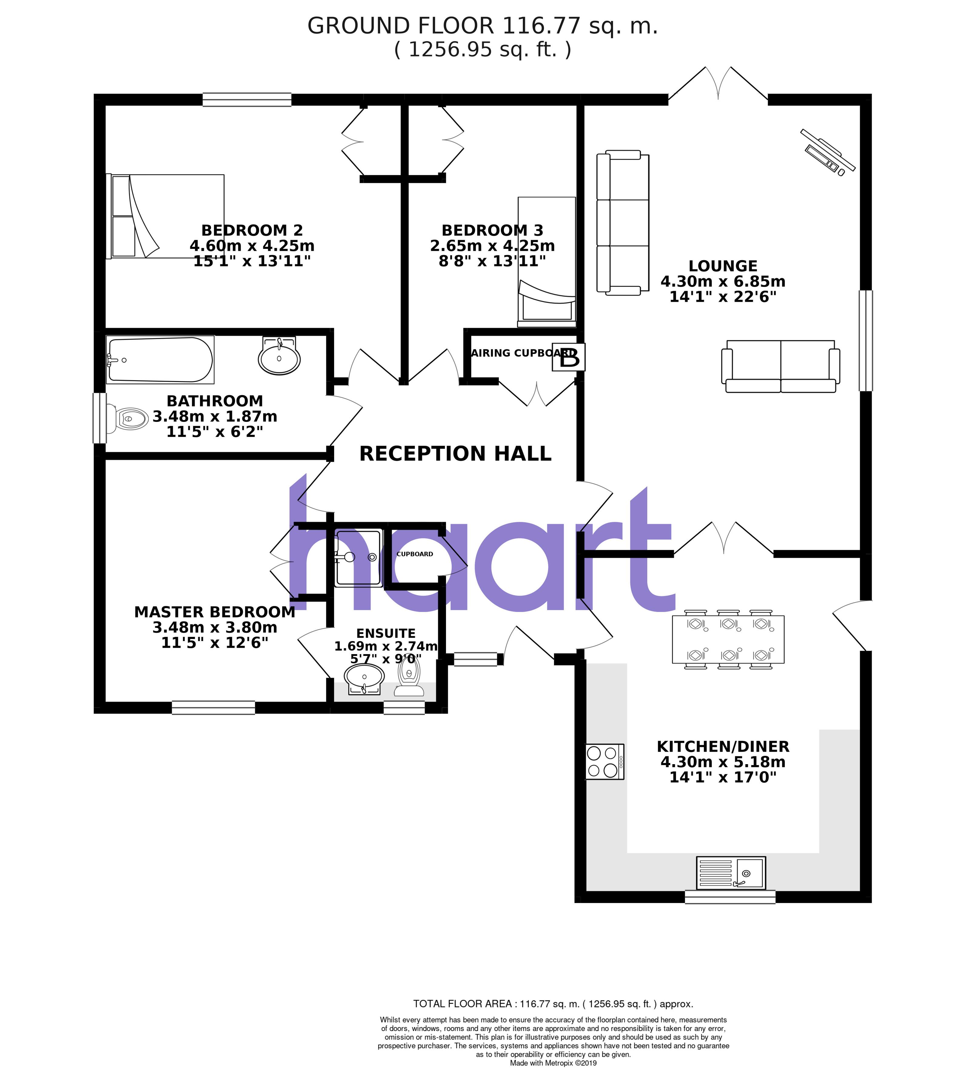 Plot Floor Plan - Sporle