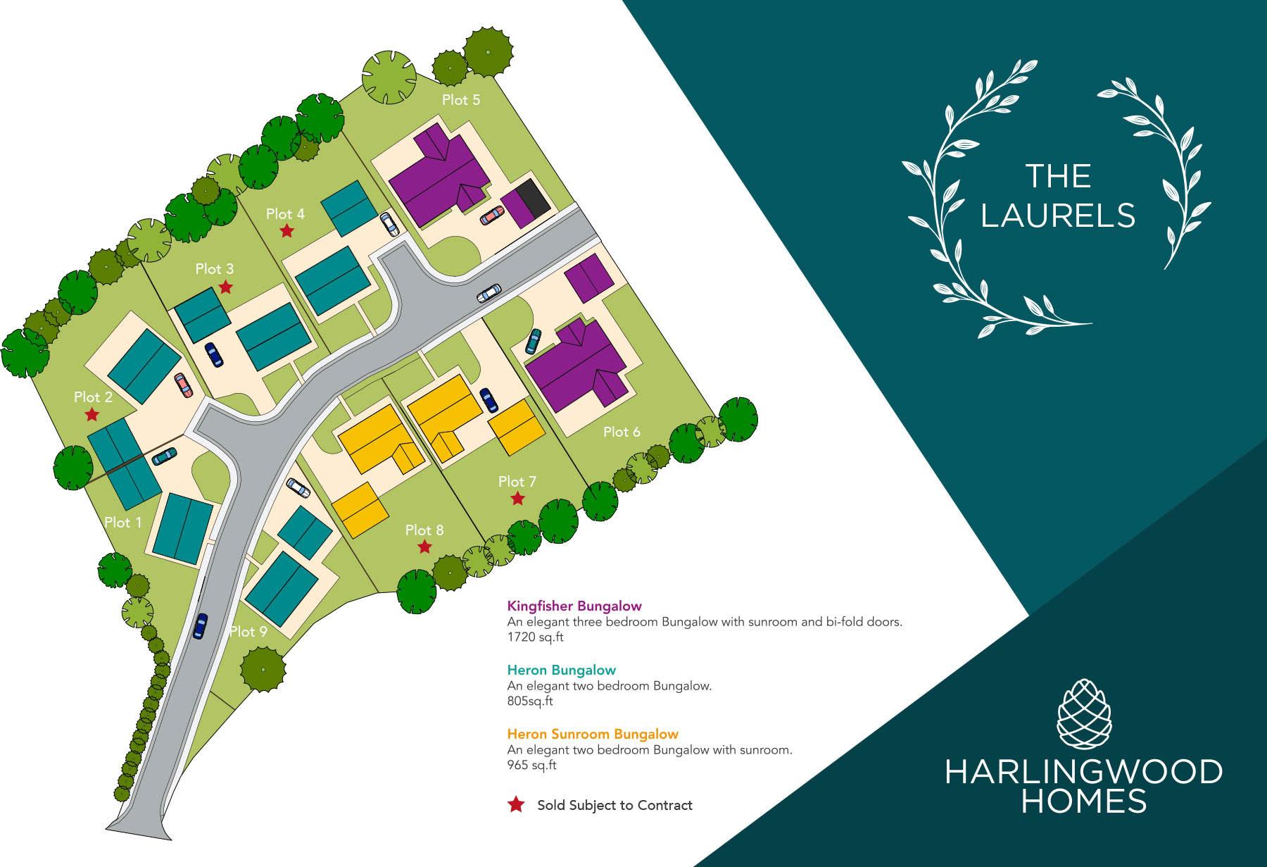 The Laurels Site Plan